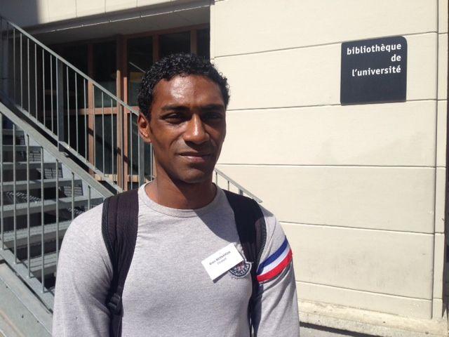 Alain, ex-détenu et futur psychologue