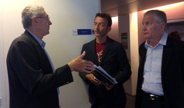 Jean-Claude Favin Lévêque, Marc Voinchet et Michel Savy