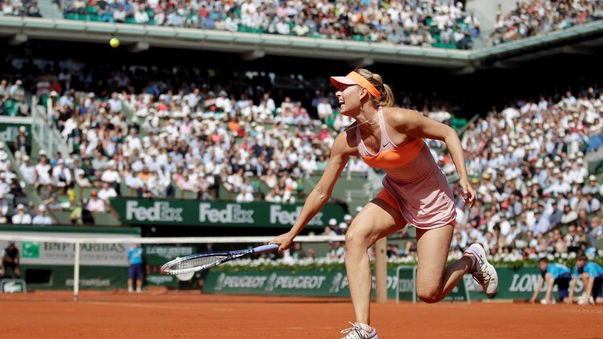 Troisième finale d'affilée pour Maria Sharapova à Roland Garros
