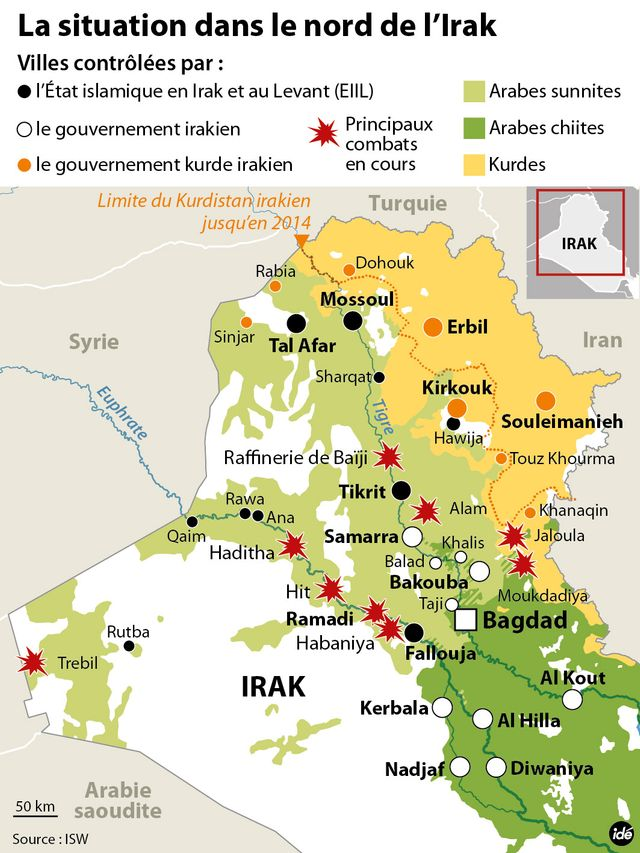 La situation dans le nord de l'Irak