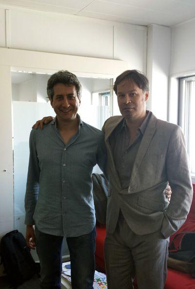 Luca Paltrinieri et Emmanuel Jaffelin