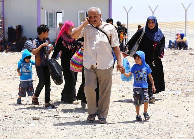 Des centaines de milliers de civils fuient les combats à Mossoul