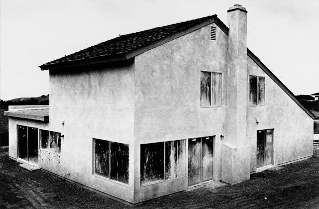 Lewis Baltz, Tract House no. 4, The Tract Houses, 1969-1971 Paris, Collection particulère