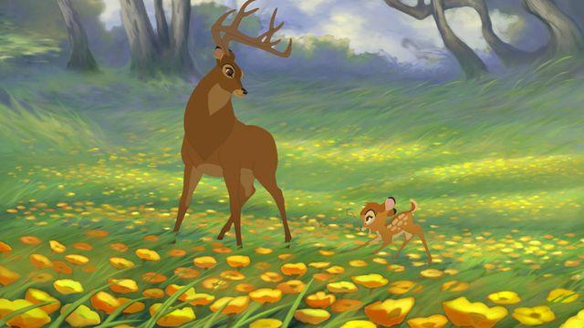 Bambi, sixième long-métrage de Disney, est sorti en 1942.