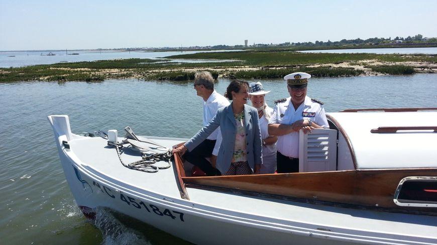 Ségolène Royal lance le Parc Naturel Marin du Bassin d'Arcachon