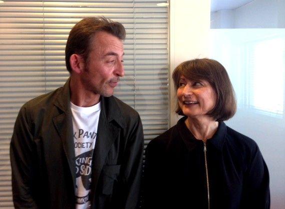 Marc Voinchet et Catherine Millet