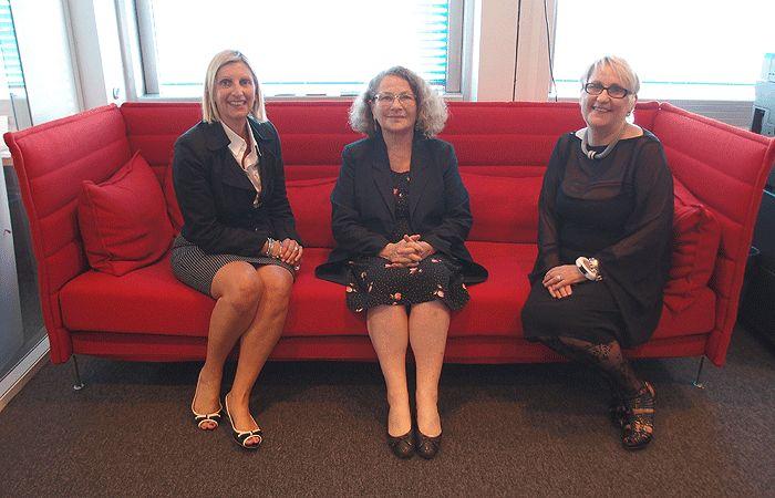 Isabelle Barth, Jacqueline Laufer et Mercedes Erra
