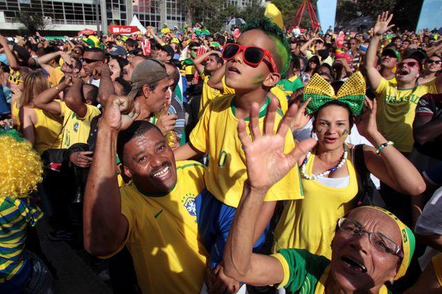 Le Brésil, en quart de finale de sa Coupe du monde