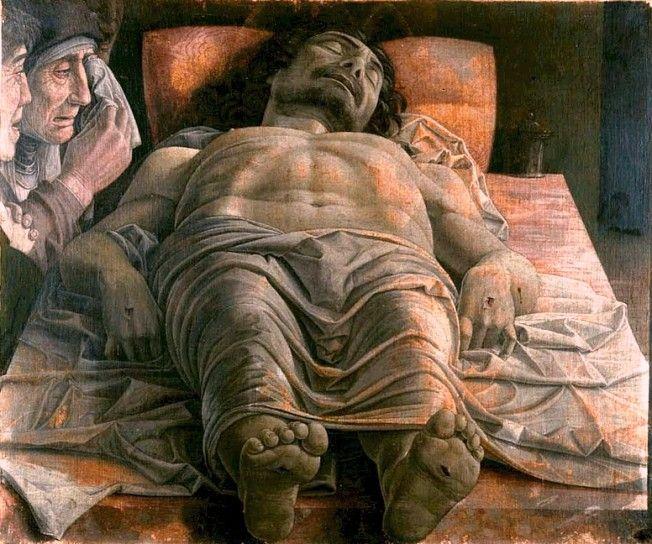Le Christ mort d'Andrea Mantegna
