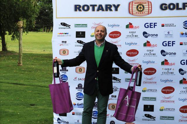 Henri Fayad, président du Rotary club de Bordeaux-ouest