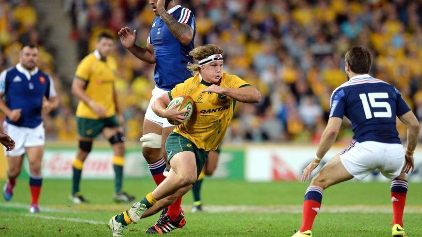 L'Australien Michael Hooper face au XV de France