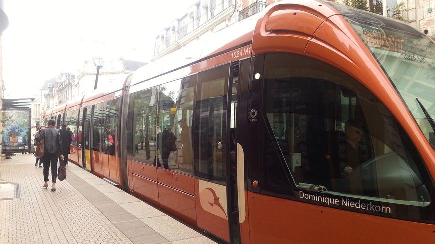 Le tramway du Mans