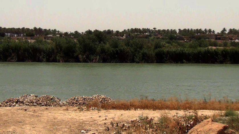 Les insurgés sont de l'autre côté de la rive à Al Taarmiya