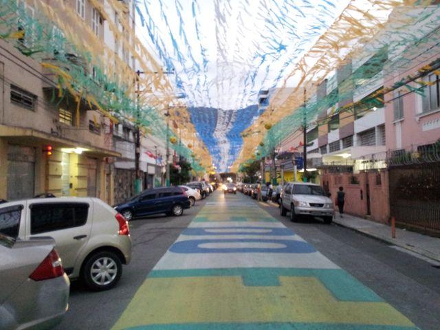 La Rua Pereira Nunes participe au concours de la rue la mieux décorée
