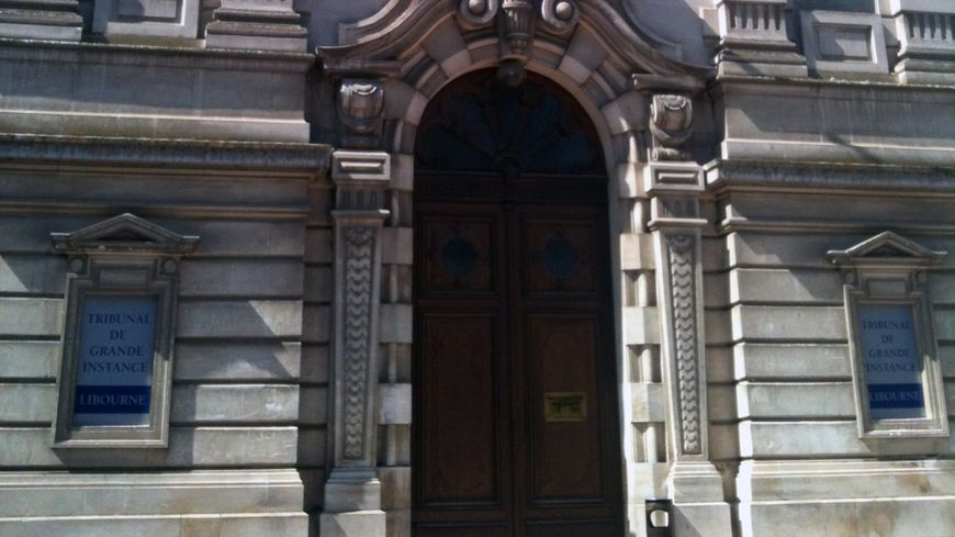 Le tribunal de grande instance de Libourne.