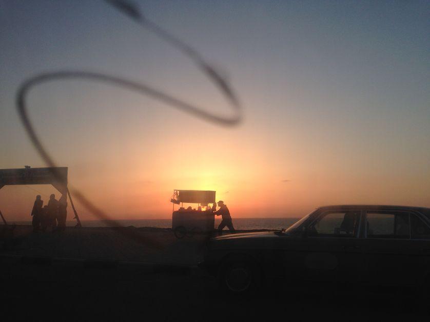 Gaza la plage