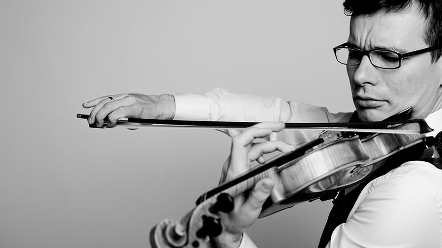 Le violoniste roumain Alexandru Tomescu