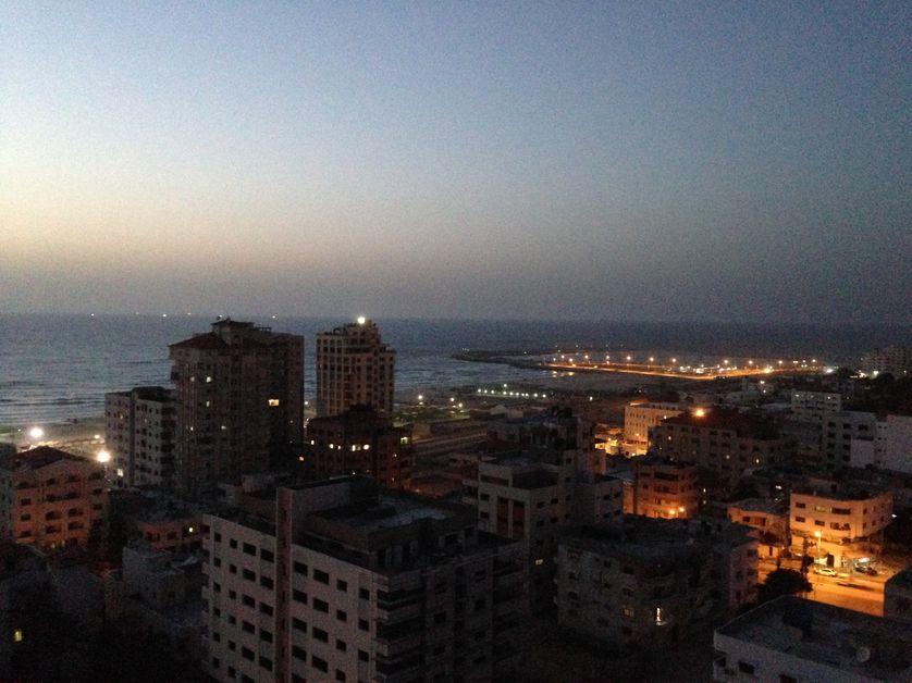 Gaza vue