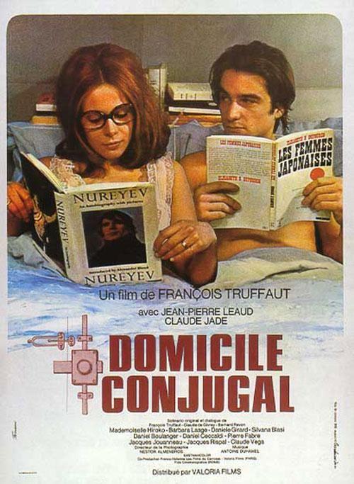Domicile conjugale de François Truffaut