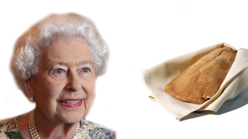 Reine d'Angleterre et fopie gras du périgord