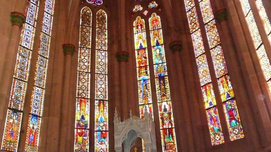 Les vitraux de la collégiale de Niederhaslach