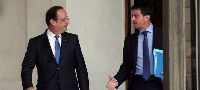 François Hollande et Manuel Valls, duo de l'exécutif