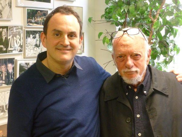 Harold Prince avec Laurent Valière