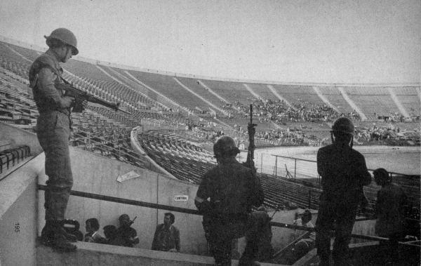 Estadio Nacional de Santiago 1973