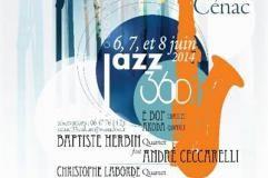 Photo - bandeau affiche Jazz360 à Cénac