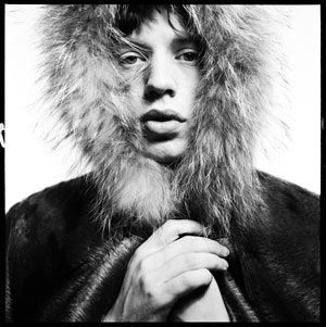 David Bailey, Mick Jagger, 1964. (avec l'aimable autorisation de l'artiste )