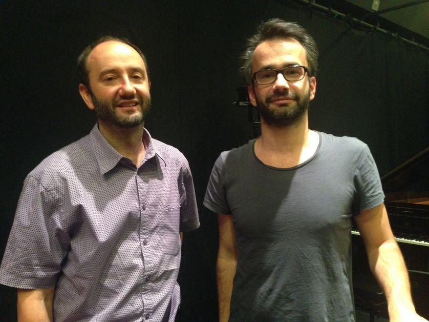 Sébastien Gokalp et Philippe Decrauzat dans le RDV