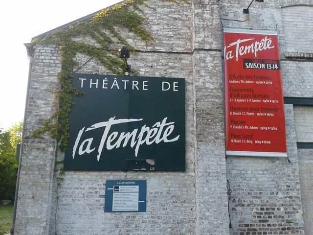 le Théâtre de la Tempête, à la Cartoucherie de Vincennes