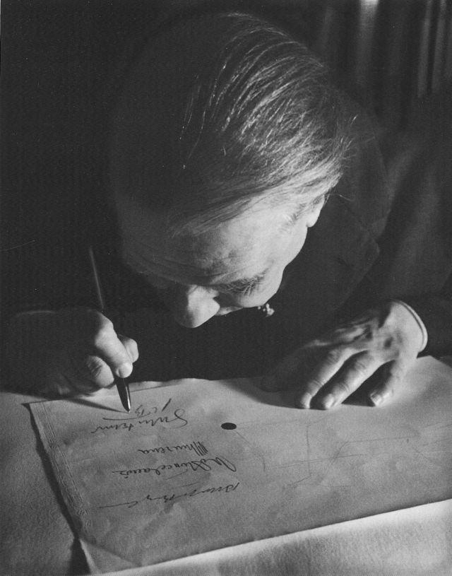 Jorge Luis Borges en 1963