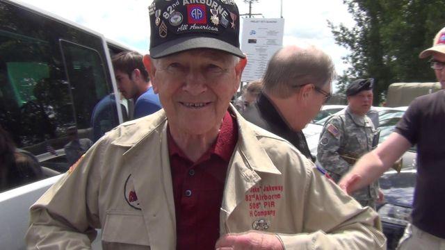 Don Jakeway de la 82ème division aéroportée américaine