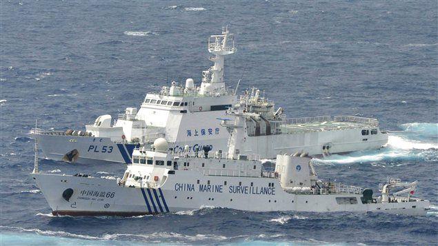 Jeux de guerre en Mer de Chine