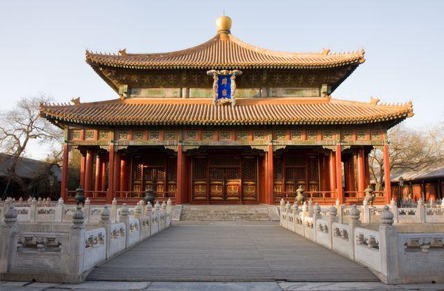 Le temple de Confucius à Pékin