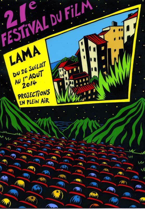 Affiche de la 21ème édition du film de Lama