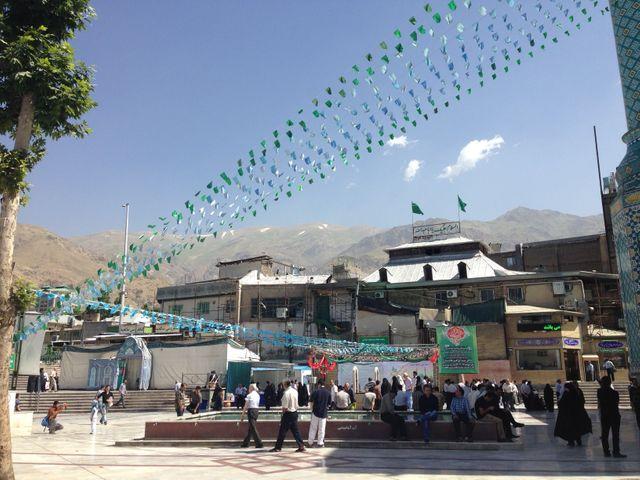 Terrasse - Téhéran