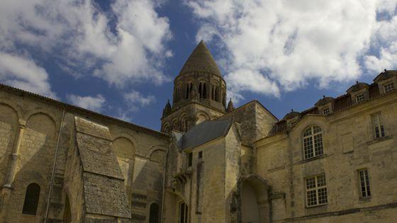 Saintes, l'Abbaye aux Dames (©Guillaume Decalf, France Musique)