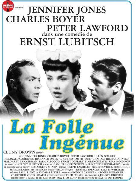 La Folle Ingénue de Ernst Lubitsch