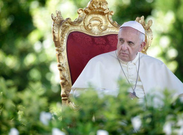 Le pape François a longuement reçu les victimes européennes