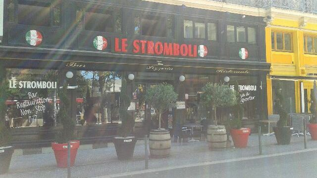 La devanture du Stromboli n'a pas souffert de l'incendie