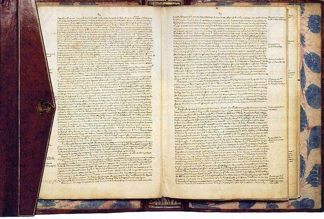 Manuscrit des Mémoires