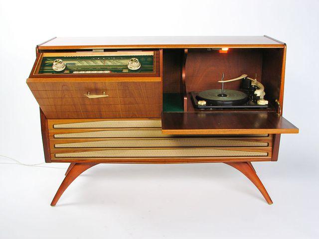 Radiogrammofon Granada III