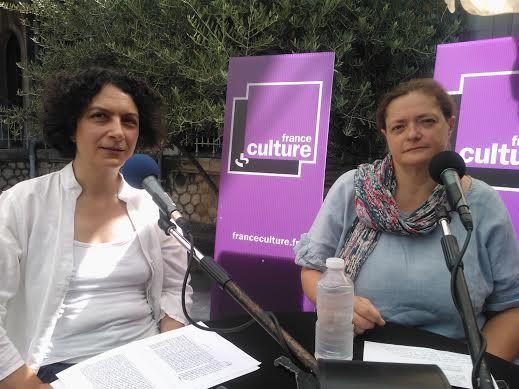 Marianne Morvilliez et Anne Allimant