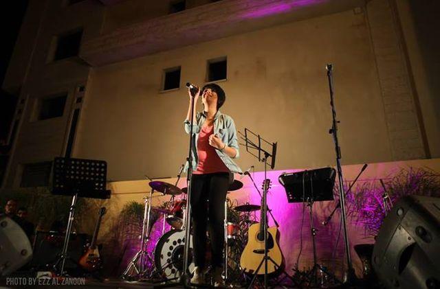 Mariam le jour de la fête de la musique à Gaza