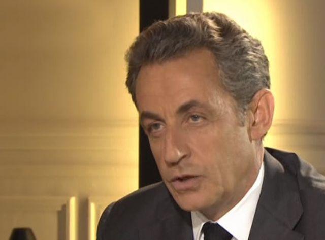 Nicolas Sarkozy a reçu TF1 dans son bureau