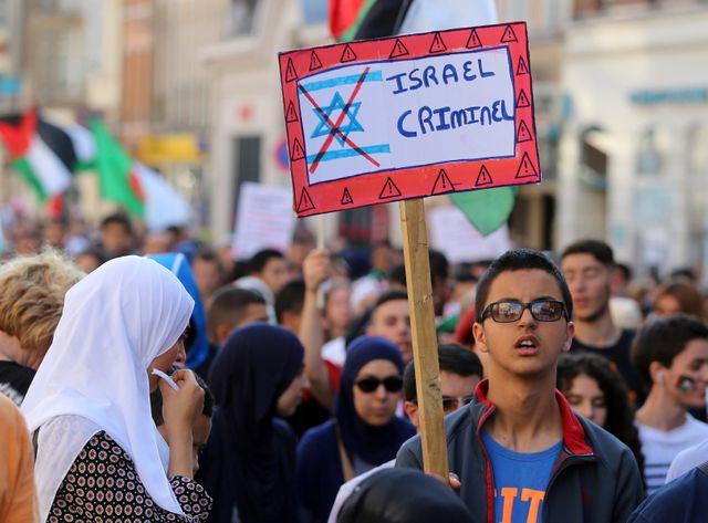 Le 16 juillet, des manifestations pro-palestiniennes ont eu lieu un peu partout en France comme ici à Lille
