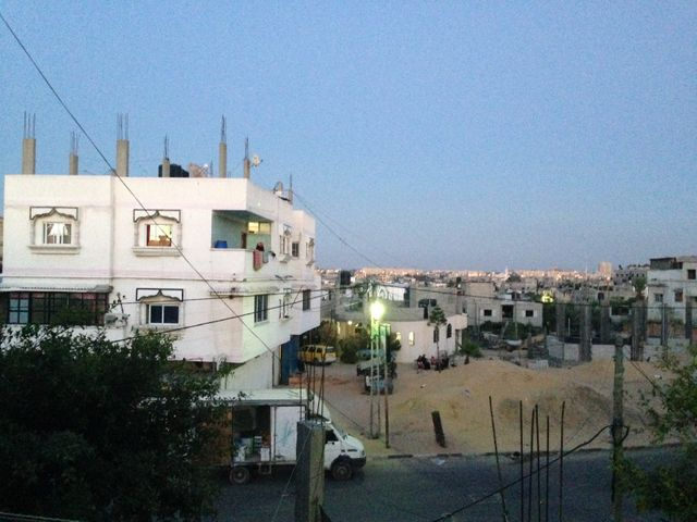 Chez Nabila à Gaza