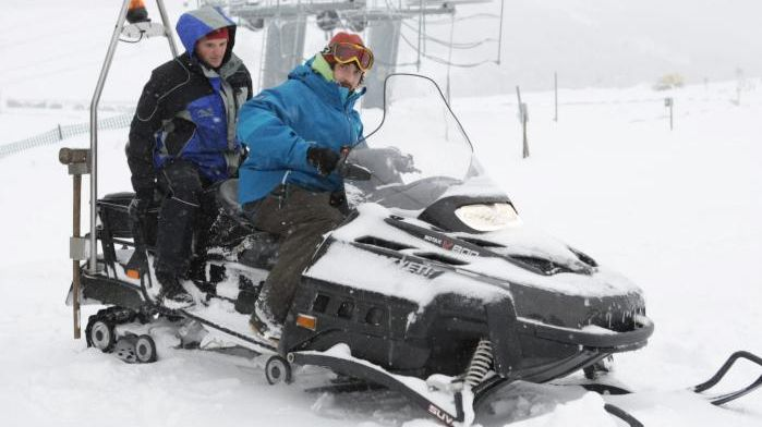 Moto-neige (image d'illustration).